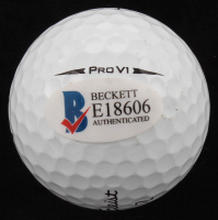 Jordan Spieth Signed Titleist Logo Golf Ball (Beckett COA) at PristineAuction.com