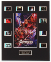 """""""Avengers: Endgame"""" LE 8x10 Custom Matted Original Film / Movie Cell Display at PristineAuction.com"""