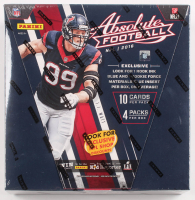 2016 Panini Absolute Football Hobby Box With (4) Packs at PristineAuction.com