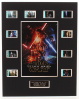 """""""Star Wars: Episode VII – The Force Awakens"""" LE 8x10 Custom Matted Original Film / Movie Cell Display at PristineAuction.com"""