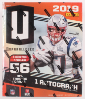 2019 Panini Unparalleled Football Box with (7) Packs at PristineAuction.com