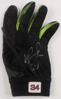 "David Ortiz Signed Game-Used Batting Glove Inscribed ""GU"" (PSA COA) at PristineAuction.com"