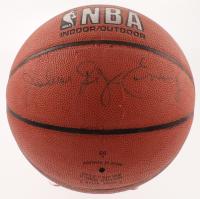 """Julius """"Dr. J"""" Erving Signed NBA Basketball (JSA COA) at PristineAuction.com"""