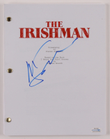"""Martin Scorsese Signed """"The Irishman"""" Movie Script (AutographCOA COA) at PristineAuction.com"""