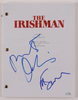 """Robert De Niro & Martin Scorsese Signed """"The Irishman"""" Movie Script (AutographCOA COA) at PristineAuction.com"""