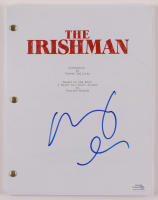 """Robert De Niro Signed """"The Irishman"""" Movie Script (AutographCOA COA) at PristineAuction.com"""