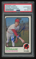 "Goose Gossage Signed 1973 Topps #174 RC Inscribed ""HOF 2008"" (PSA Encapsulated) at PristineAuction.com"