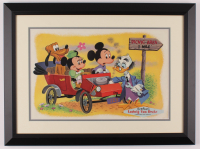 "Disney ""Ludwig Von Drake"" 17.5x23.5 Custom Framed Print Display at PristineAuction.com"