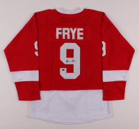 """Alan Ruck Signed """"Ferris Bueller's Day Off"""" Detroit Red Wings Jersey (Schwartz Sports COA) at PristineAuction.com"""