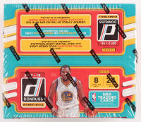 2017-18 Panini Donruss Basketball Unopened Box with (24) Packs at PristineAuction.com