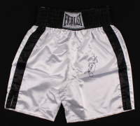 Buster Douglas Signed Boxing Trunks (Schwartz COA) at PristineAuction.com