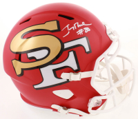 Jerry Rice Signed 49ers AMP Alternate Speed Full Size Helmet (Schwartz COA) at PristineAuction.com