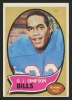 O.J. Simpson 1970 Topps #90 at PristineAuction.com
