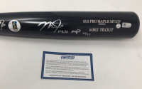 "Mike Trout Signed Old Hickory Player Model MT27P LE Baseball Bat Inscribed ""14,16 MVP"" (Steiner COA) at PristineAuction.com"