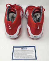 "Mike Trout Signed Pair of LE Nike Zoom 4 Baseball Cleats Inscribed ""14, 16 AL MVP"" (Steiner COA) at PristineAuction.com"
