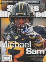 Michael Sam Signed 2014 Sports Illustrated Magazine (JSA COA) at PristineAuction.com
