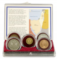 50th Anniversary Six-Day War Five Coin Collection at PristineAuction.com
