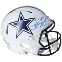 Ezekiel Elliott Signed Cowboys Full-Size Authentic On-Field Matte White Speed Helmet (Fanatics Hologram) at PristineAuction.com