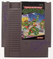 Kevin Eastman Signed Original 1989 Teenage Mutant Ninja Turtles Nintendo NES Video Game Cartridge with Hand-Drawn Turtle Sketch (JSA COA) at PristineAuction.com