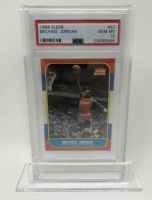 Michael Jordan 1986-87 Fleer #57 RC (PSA 10) at PristineAuction.com