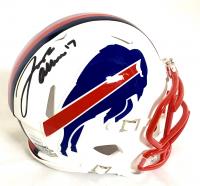 Josh Allen Signed Bills Speed Mini Helmet (JSA COA) at PristineAuction.com