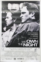 """""""We Own the Night"""" 27x40 Poster Signed by (4) With Joaquin Phoenix, Robert Duvall, Mark Wahlberg & Eva Mendes (Beckett COA) at PristineAuction.com"""