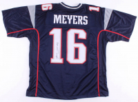 Jakobi Meyers Signed Jersey (JSA COA) at PristineAuction.com
