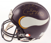 Daunte Culpepper Signed Vikings Full-Size Authentic On-Field Helmet (JSA COA & Real Deal COA) at PristineAuction.com