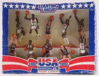 "1992 Starting Lineup Team USA ""Original Dream Team"" Basketball Players Action Figurines with Michael Jordan, Magic Johnson, Larry Bird at PristineAuction.com"