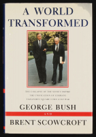 "George H.W. Bush Signed ""A World Transformed"" Hard Cover Book (PSA LOA) at PristineAuction.com"