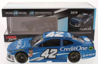Kyle Larson Signed LE NASCAR #42 Credit One Bank 2019 Camaro ZL1 1:24 Scale Die Cast Car (JSA COA) at PristineAuction.com