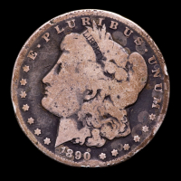 1890-CC Morgan Silver Dollar at PristineAuction.com
