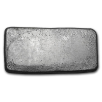100 gram Silver Bisbee Mining Co. Bar at PristineAuction.com