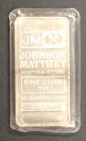 10 Troy Ounce .999 Fine Silver Bullion Bar at PristineAuction.com