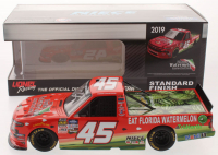 Ross Chastain Signed LE NASCAR #45 Watermelon Association 2019 Silverado 1:24 Scale Die Cast Car (JSA COA) at PristineAuction.com