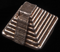 "5 Troy Oz. 999 Fine Silver ""Aztec Pryamid"" Bullion at PristineAuction.com"
