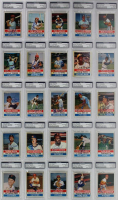 1980 Hostess Complete Set of (150) Signed Baseball Cards with #1 Fred Lynn, #2 Joe Morgan, #3 Phil Niekro, #4 Gaylord Perry at PristineAuction.com