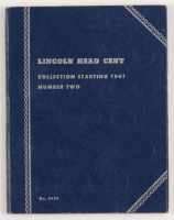 1941-1958 Lincoln Head Cent Collection with (51) Coins with Folder at PristineAuction.com