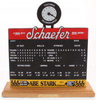 LE 1957 Ebbets Field Schaefer Pastime Scoreboard at PristineAuction.com