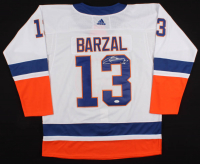 Mathew Barzal Signed Islanders Jersey (JSA COA) at PristineAuction.com