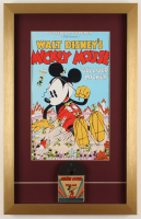 """Mickey Mouse in Gulliver Mickey"" 15.5x24.5 Custom Framed Print Display with Vintage 1940's Original 8mm Disney Film Reel at PristineAuction.com"