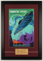 "Disneyland ""Submarine Voyage"" 17.5x25.5 Custom Framed Print Display with Vintage Original Ride Ticket at PristineAuction.com"