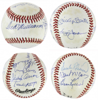 500 HR Club ONL Baseball Team-Signed by (11) With Ted Williams, Frank Robinson, Willie McCovey, Harmon Killebrew (Beckett LOA) at PristineAuction.com