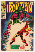 """1968 """"The Invincible Iron Man"""" Issue #5 Marvel Comic Book at PristineAuction.com"""