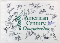 2018 American Century Championship Pin Flag Signed by (25) With Gary LeVox, Joe Don Rooney, Adam Thielen, Jay Demarcus (Beckett LOA) at PristineAuction.com