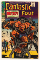"""1967 """"Fantastic Four"""" Issue #68 Marvel Comic Book at PristineAuction.com"""
