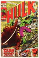"""1970 """"The Hulk"""" Issue #129 Marvel Comic Book at PristineAuction.com"""
