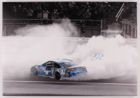 Kevin Harvick Signed NASCAR 21x30 Burnout Photo On Canvas (PA COA) at PristineAuction.com