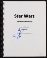 "J. J. Abrams Signed ""Star Wars: The Force Awakens"" Movie Script (JSA COA) at PristineAuction.com"