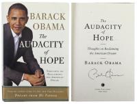 "Barack Obama Signed ""The Audacity of Hope"" Hardcover Book (JSA LOA) at PristineAuction.com"